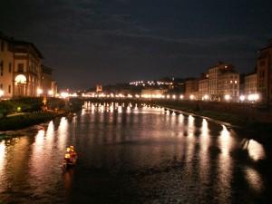 Флоренциа нощем