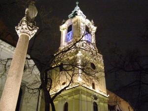 Братислава вечер