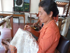 ръчно рисувана коприна