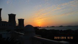 Залез над Дубай