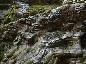 снимка от реката Аюуу - рафтинг