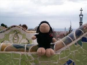 В парка Гюел има маймуни