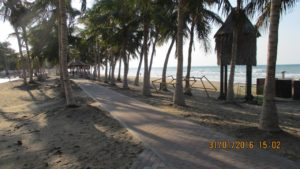 Плажът на Маскат